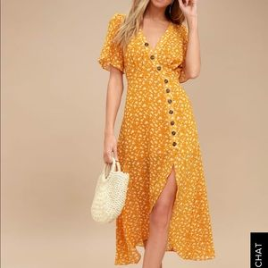 XS After Bloom Delight Floral Print Mini Dress
